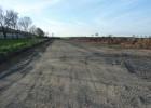 Gründungsarbeiten einschl. Bodenplatte für einen neuen Putenstall.